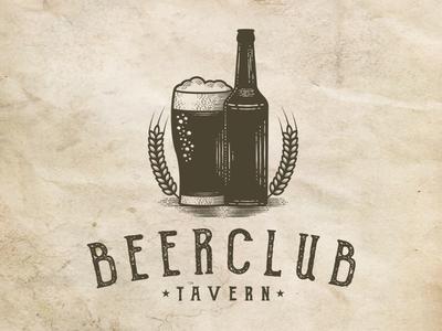 Beer Club Vintage Logo