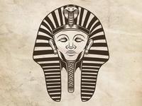 Pharaoh Face Logo Template