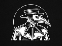 Plague Doctor Logo Template