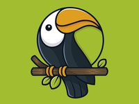 Tropical Toucan Logo Template