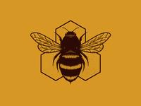 Bee Hive Creative Logo