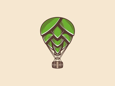 Hop Air Balloon Logo (logo for sale)