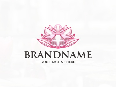 Lotus Bloom Logo (logo for sale)