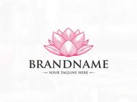 Lotus Bloom Logo (logo for sale)