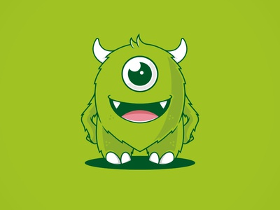 Cute Monster Logo (logo for sale)