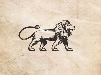 Brave Lion Logo Template