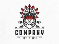 Beauty Indian Logo (logo for sale)
