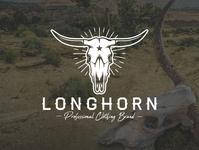 Longhorn Skull Logo Template