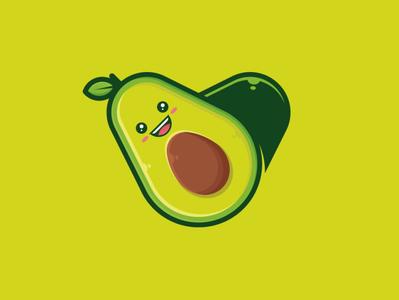 Avocado Love Logo Template