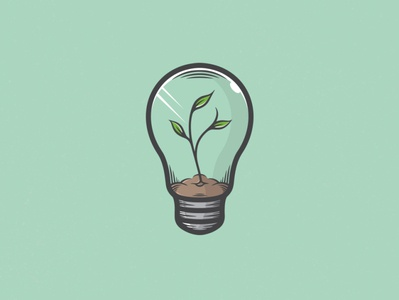 Plant Idea Logo Template