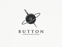 Button Planet Logo Template