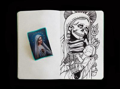sketchbook   . skull . 3