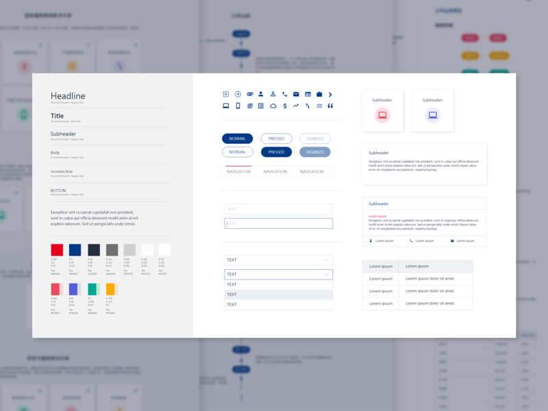 Style Guide web ui style-guide guideline