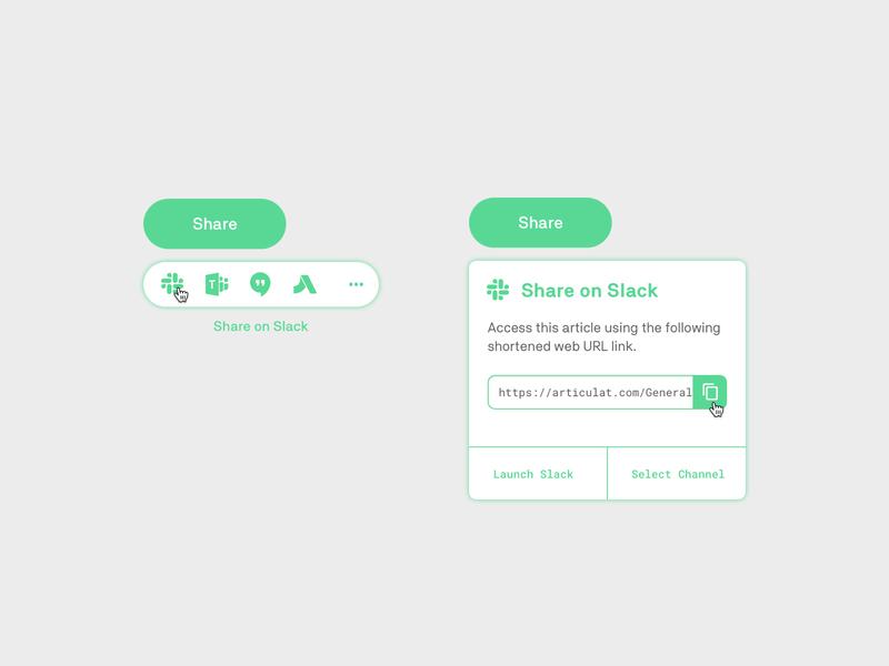 Day 10 - Share ui. share button dailyui010 dailyui