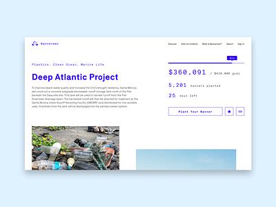 Day 32 - Crowdfunding crowdfunding dailyui032 dailyui