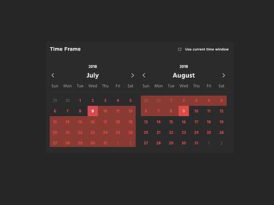 Day 38 - Calendar calendar dailyui038 ui dailyui