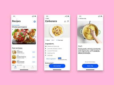 Day 40 - Recipe food app dailyui040 app cooking app recipe dailyui