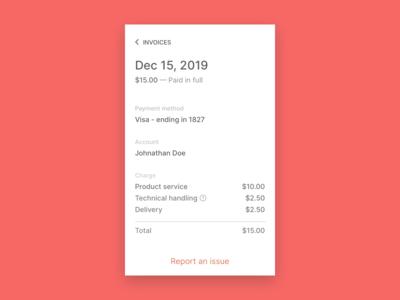 Day 46 - Invoice