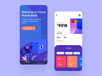 ABN Banking App figma dribbble app sketch ui  ux ios design ui  ux design ios mobile app feature modern money app banking app bank concept app