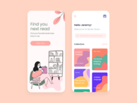 e-Library design - Book store app