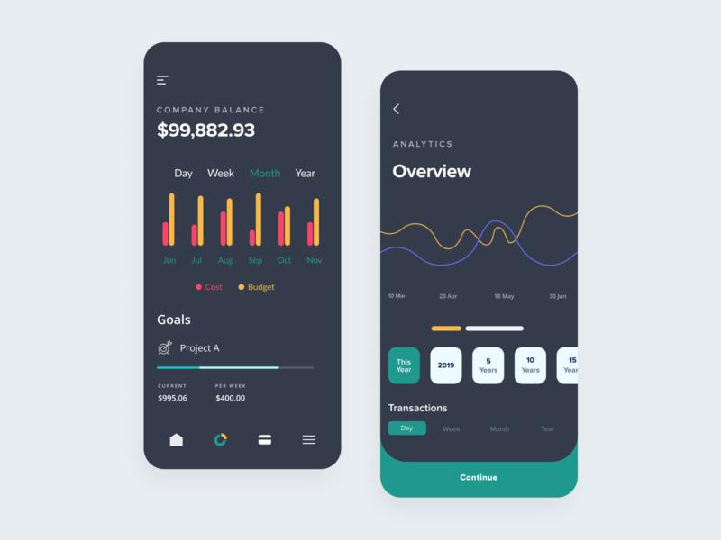 Personal Finance App - Concept
