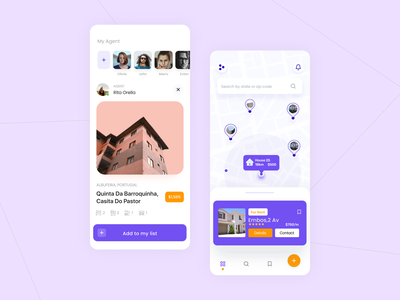 Renova - Rental travel app concept app ios mobile app figma home ofspace realestate estate rentals bed and breakfast house travel vacation rental vacation guests rental property mobile design mobile minimal