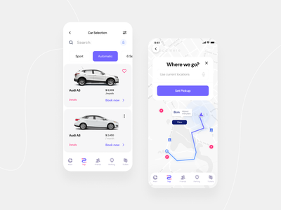 Forz - Car Booking Mobile App parking lot tariff automotive design dribbble app figma ios mobile app concept app car model navigation parking app parking driver app drive booking auto