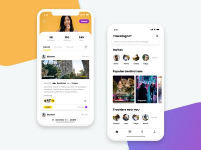 Tourism App Mobile Social Network