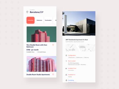 Roomy Concept Rental App