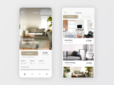 Apartments Booking Mobile App
