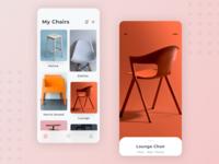 eCommerce Catalog app design