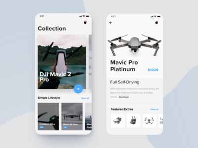 DJI Mobile marketplace