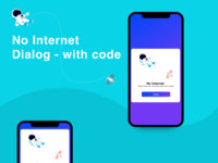 Android Internet Message with Code