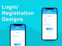 Free Login Registration Design for Android