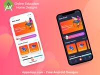 Education App Designs