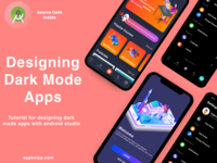 Android dark mode designing tutorial