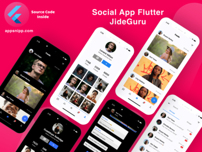 Flutter designs, themes, templates and downloadable graphic elements