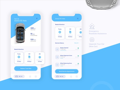 Mobile App - Car care