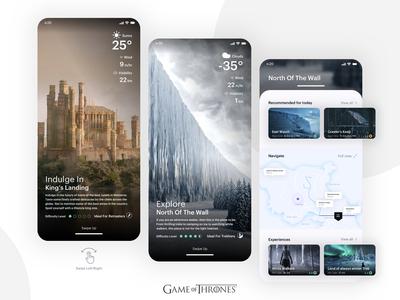 Travel App - GOT inspired