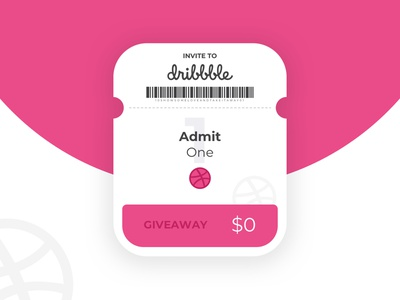Dribbble Invite dribbble join giveaway free dribbble invite ui ux mobile interaction experience app design