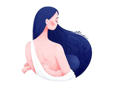 mother milk charachter design characterdesign illustration