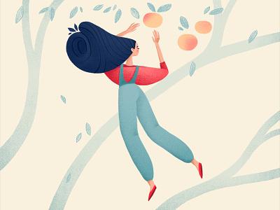 gardener girl charachter design characterdesign illustration