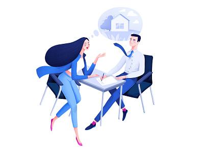 illustration for Gazprombank design branding charachter design characterdesign illustration