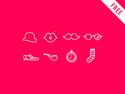 Dandy Icons - FREE DOWNLOAD freebies icon dandy free download