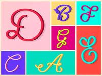 Pistacchio Font - wip