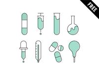 Pharmacy Icon set - FREE DOWNLOAD