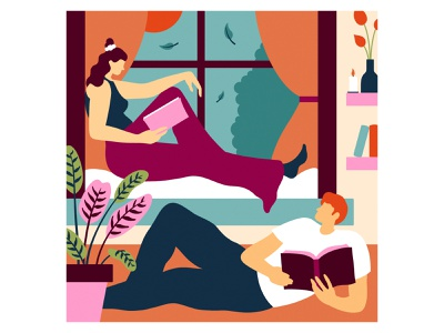 Home Comforts for Mind Body & Soil home interiordesign books reading graphic design graphicdesign designer design art illustrator illustration