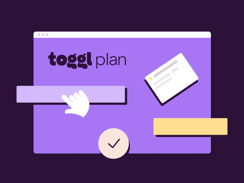 Toggl Plan Illustrations
