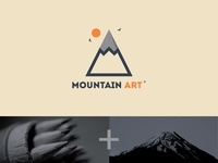 Mountain Art Logo ⛰️+✏️