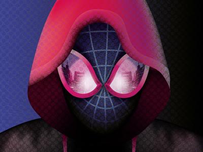 Fan art-Spider-man into the spider verse
